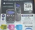 Motorola QA1 en personal