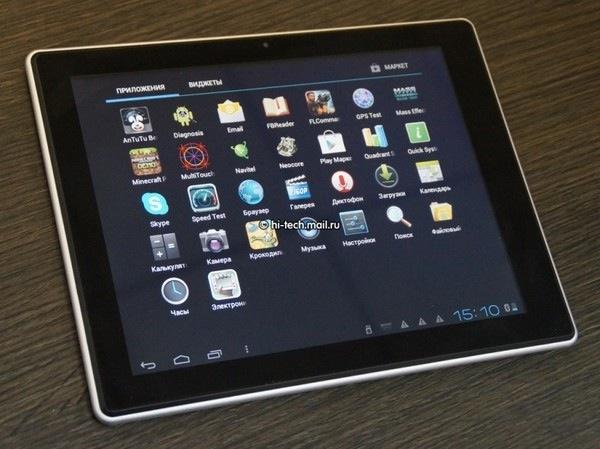 Hyundai lanza trío de tablets Android