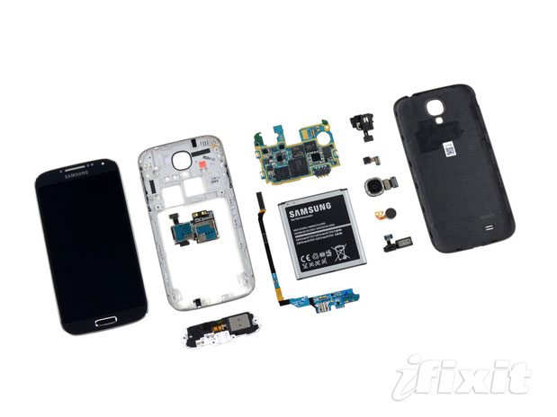 Celular Samsung Galaxy S4: Despiece Del Samsung Galaxy S4: Es Reparable