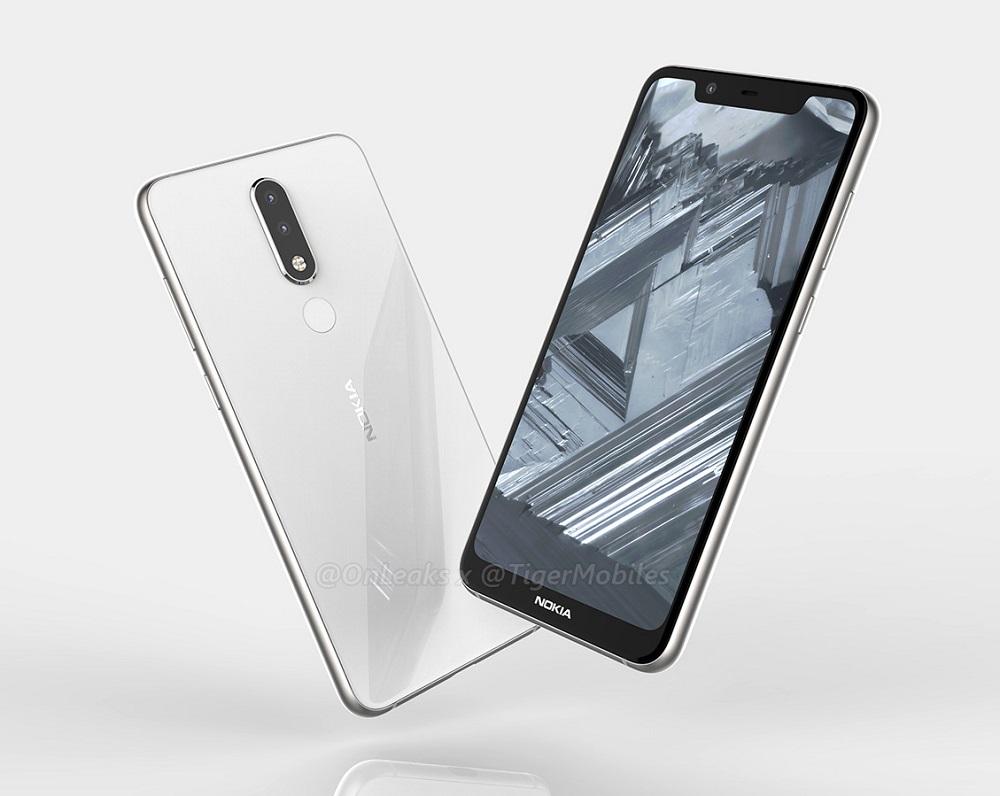 Un Nokia 5.1 Plus con muesca frontal podría estar en camino