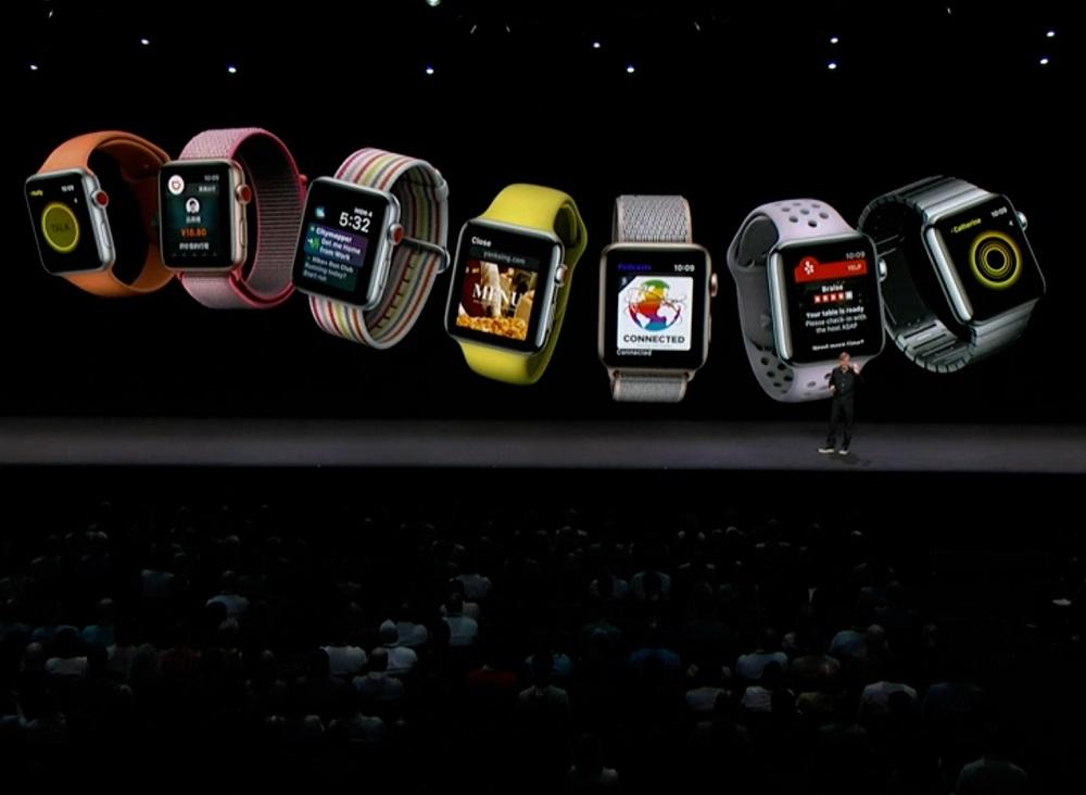 Ningún nuevo Apple Watch pero sí se anunció WatchOS 5