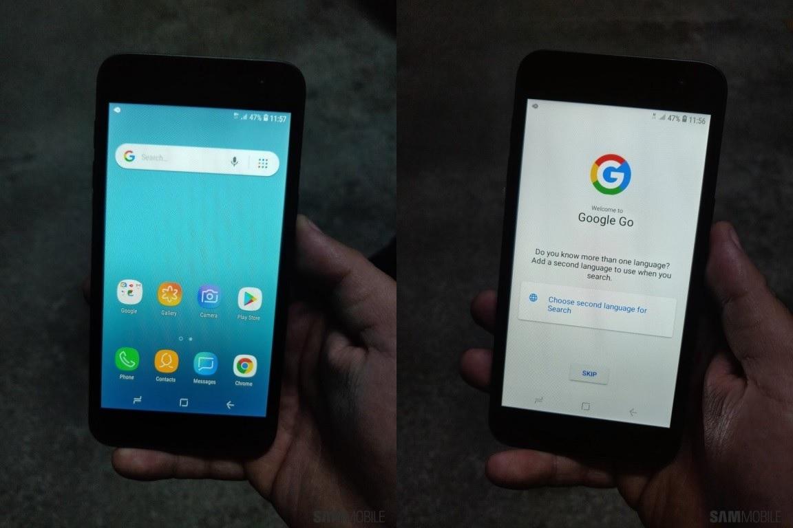 Certificación Wi-Fi y fotografías filtradas del Samsung con Android Go