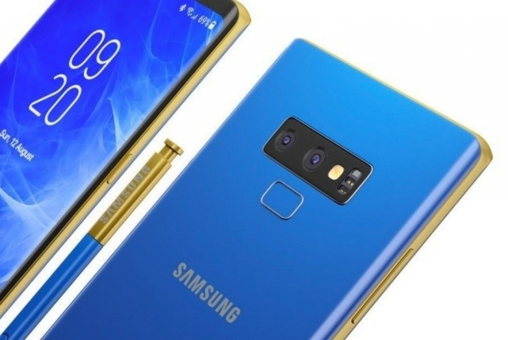 El Samsung Galaxy Note 9 muestra su arista inferior en foto filtrada