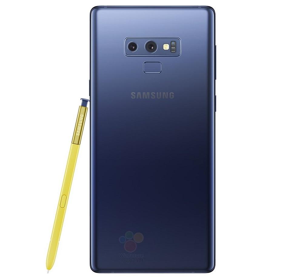 A un día de su anuncio oficial, más renders del Samsung Galaxy Note 9