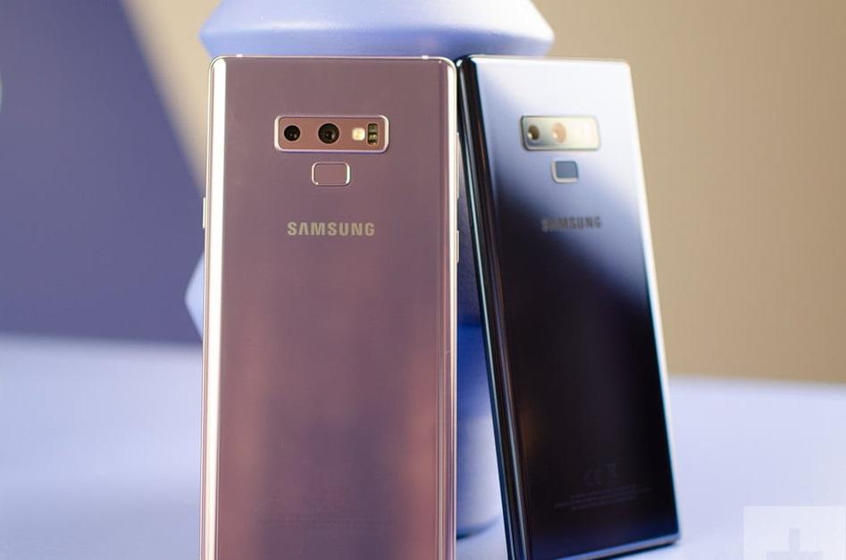 El último parche de seguridad llega para el Samsung Galaxy Note 9